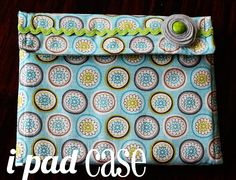 diy ipad case | 15 Really Cool DIY iPad Covers And Cases » DIY 30-Minute Ipad Case
