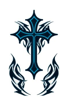Because of the popularity of cross tattoos their designs are diverse. Check Celtic Cross Tattoos and Tribal Cross Tattoos below, which are the most widespread. Tribal Cross Tattoos, Celtic Cross Tattoos, Tribal Shoulder Tattoos, Tribal Tattoos For Men, Cross Tattoo For Men, Tattoos For Guys, Tattoos For Women, Celtic Tribal, Celtic Crosses