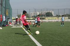 Pass like Ozil!   Shoot like Alexis!   Only at IOT- Arsenal Soccer Schools.