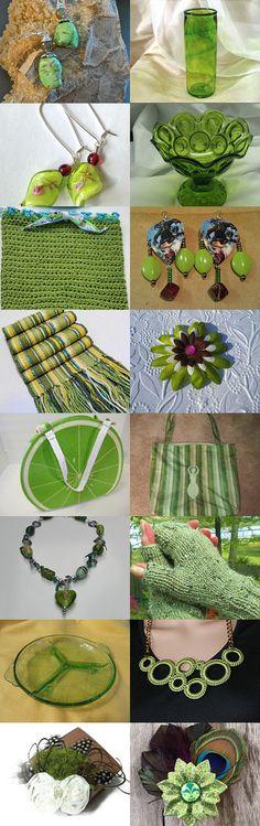 Green Grass of Home!~BFW Weekend Treasury by Kathy Carroll on Etsy--Pinned with TreasuryPin.com  #handmadegifts