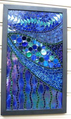 ✿ڿڰۣ(̆̃̃•Aussiegirl   https://pinterest.com/aussiegirllori/stained-glass/   Glenmark Glass Mosaic
