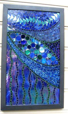 ✿ڿڰۣ(̆̃̃•Aussiegirl   https://pinterest.com/aussiegirllori/stained-glass/   Glenmark Glass Mosaic