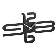 Astair Black Wall Clock