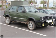 VW Golf Mk3 Cross Country by 22photo