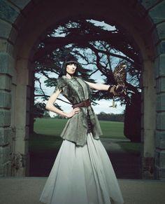 Britain & Ireland's Next Top Model - Birds of Prey shoot