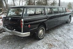 1962 Checker Aerobus Limo, The Good Old Days, Cool Tools, Taxi, Transportation, Old Things, Trucks, Vehicles, Motors