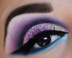 Maquillaje de Ojos con Brillo 4