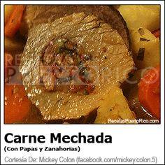 Carne Mechada (Con Papas)