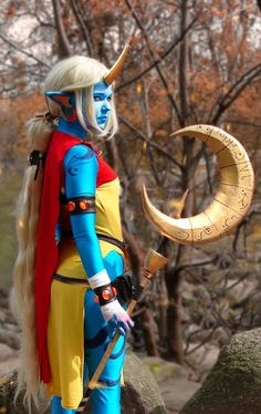Soraka from League of Legends  Photo by me.