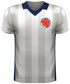 Camiseta A de la Selección Colombia 🇨🇴 en la Copa América Centenario 🏆 encuentro Colombia 🇨🇴 vs Paraguay 🇵🇾