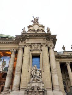 """""""L'Inspiration ou la Peinture"""" de Alfred Boucher (1900)_à droite de l'entrée du Grand Palais (8è Arrt)_Paris (France)_2014-10-24 © Hélène Ricaud-Droisy (HRD)"""