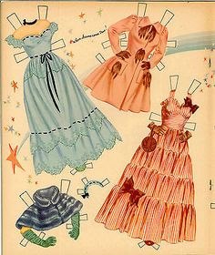 VINTGE-1952-June-Allyson-PAPER-DOLL-BEAUTIFUL-HD-LASER-REPRODUCTIN-ORG-SZ-UNCUT June Allyson, Bobe, Animal Coloring Pages, Coloring Books, Borders For Paper, Vintage Paper Dolls, Wedding Paper, Paper Background, Dress Patterns