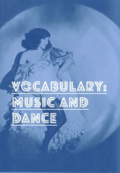French Vocab about Music and Dance