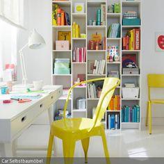 Bücher, Dekoartikel, Kisten und Arbeitsutensilien sind alles Gegenstände, die fast in jedem Arbeitszimmer untergebracht werden müssen. Platz finden all diese …