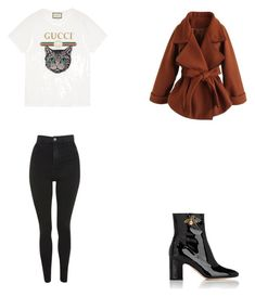 A fashion look from February 2018 featuring embroidered shirts, caramel coat and topshop jeans. Browse and shop related looks. Caramel Coat, Topshop Jeans, Fasion, Gucci, Fashion Looks, Polyvore, Shirts, Shopping, Style