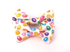 Cat Bow Tie / XS Dog Collar Addon Accessory  Jelly by TheEmPURRium, $4.50
