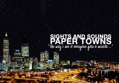 paper towns quotes strings - Google Search