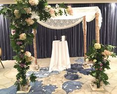 Chuppah for rent - Montreal area - Rustic and Romantic