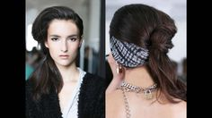 Ornate ponytails, pony tail, Messy, fashion, trends, hair trends www.salonellelajolla.com