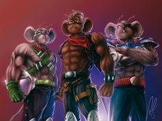biker mice from mars | mike biker mice from mars (PERSONAL WORK FAN ART) by Rodrigo Garcia ...