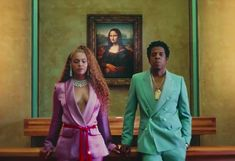 At the Louvre Beyoncé and Jay-Z Are Both Outsiders and Heirs