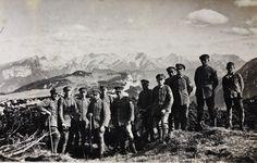 Reit im Winkel - Gipfelkreuz aufstellen - 1929