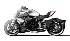 Ducati Diavel, Motorcycle Design, Bike Design, Concept Motorcycles, Cars And Motorcycles, Scrambler, Ducati Motor, Bmw Motors, Bike Sketch