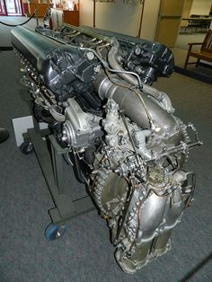 Packard Merlin 224 aircraft engine