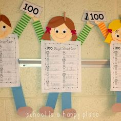 School Is a Happy Place: 100th Day 2014 (Done and Done)