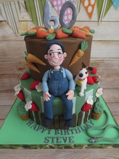 One Man and his Dog by Kizzy's Cakes