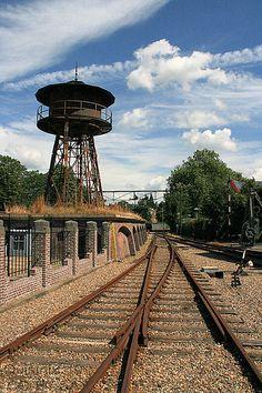 Spoorwegmuseum - Watertoren - Lijst van watertorens in Nederland - Wikipedia