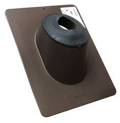 Canplas 551222BR Stretch Fit Pipe Flashing, 1.5-Inch to 2-Inch, Brown -- You can find out more details at the link of the image.