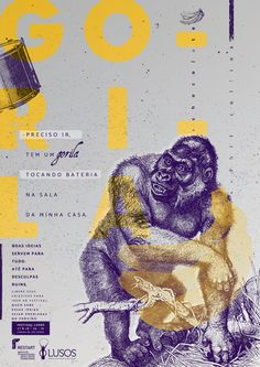 RAWZ — Poster - Monkey Project for Lusos Festival. by...