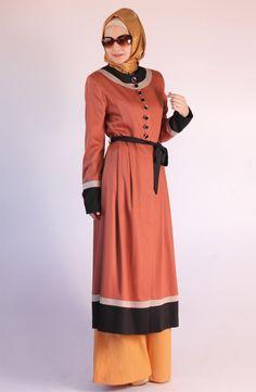 Lady Kap / Kiremit, kap, 2013 kap modelleri, tesettür, tesettur, hijab, pardesü, pardösü, pardüse, karaca butik