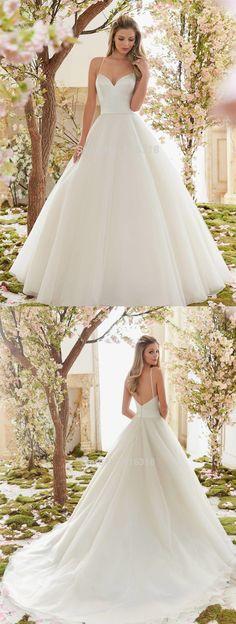 Hochzeitskleid Straps Wedding Dresses 2016 Cheap Beach Wedding Dress Backless abito da sposa Simple Elegant robe de mariage $210