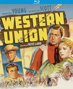 Western Union - Blu-Ray (Kino Lorber Region A) Release Date: November 8, 2016 (Amazon U.S.)
