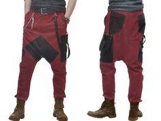 Broek baggy jeans voor mannen van beauty fashion op DaWanda.com