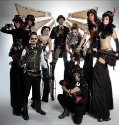 Halloween Steampunks - For more ideas and inspiration on Halloween Entertainment call KruTalent on 0207 610 7120 or email the team on bookings@krutalent.com