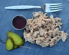 Dutch Oven Slow Cooked Pulled Pork Loin - Light & Healthy!!!