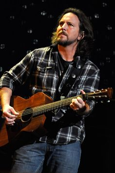 Dudes, Eddie Vedder is smokin hot. Just saying.