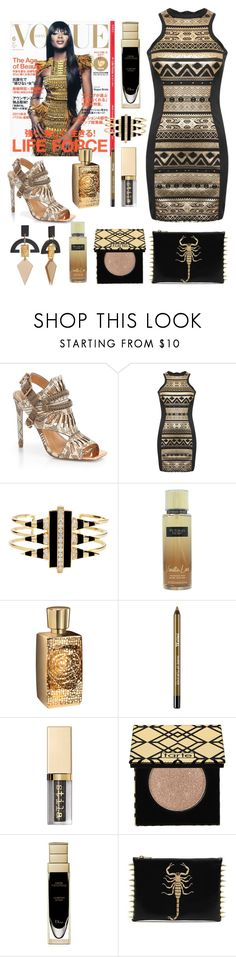 """Slightly dangerous"" by subvilli on Polyvore featuring Ivy Kirzhner, Pilot, Noir Jewelry, Victoria's Secret, Lancôme, Stila and tarte"
