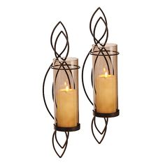 Bedroom? Mocha Twist Sconces, Set of 2 | Kirklands
