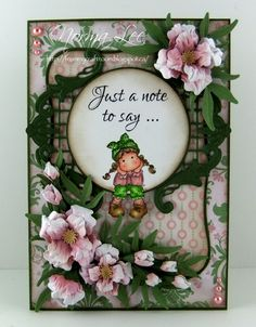 From My Craft Room: A note to say I ♥ U - Magnolia-licious Mini Monday #8