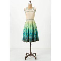 Ombre Chameli Dress via Polyvore