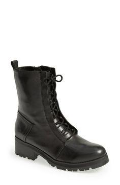 Kelsi Dagger 'Brooklyn Hoyt' Round Toe Boot (Women) Black Size 10 M on Vein - getVein.com