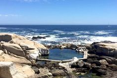 These serene tidal pools offer safety, seclusion and scenic surrounds. Best of all, they don't need top-ups from the city's water supply. Natural Swimming Pools, Natural Pools, Cape Town, South Africa, City, Places, Nature, Ponds, Rivers