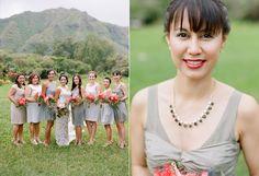 grey dresses in hawaii