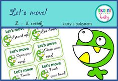 Pohybovky - Let´s move! Lets Move, Touching You, Stand Up, Let It Be, Tips, Get Back Up, Counseling