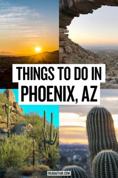 Wondering what to do in Phoenix? From amazing hikes to world class museums, here are some of the best things to do in Phoenix, Arizona. Visit Arizona, Arizona Travel, Arizona Usa, Arizona Trip, Usa Travel Guide, Travel Usa, Travel Guides, Travel Tips, Places To Travel