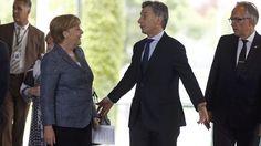 Macri anunció la visita de Angela Merkel a la Argentina